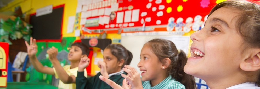 Children counting in a 1stClass@Number lesson